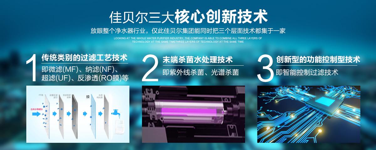 必发bifa88品牌净水器厂家的核心创新技术